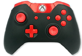 Red Out Mod Controller Xbox One