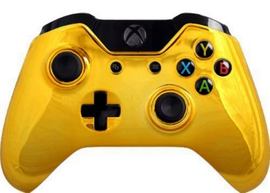 Gold Out Mod Controller Xbox One