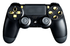 Gold Out Mod Controller Ps4