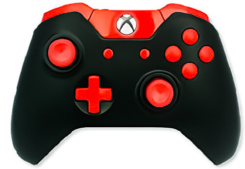 Red Out Controller Xbox One